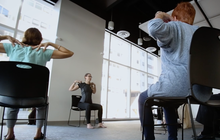 Chair Yoga at IBX LIVE