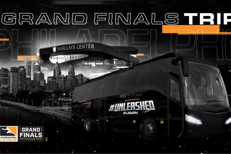 dde9b42a2f46 Philadelphia Fusion fans can get a free trip to Brooklyn for the OWL ...