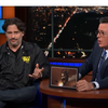 Colbert discusses D&D with Joe Manganeillo and Cory Booker
