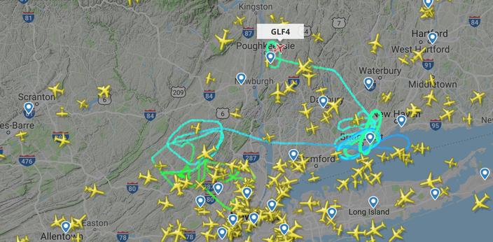 Post Malone's plane