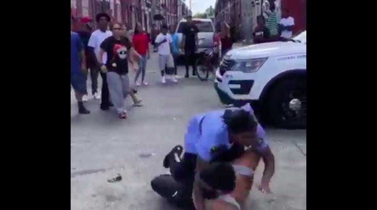 Arrest video
