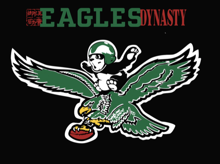 The Eagles Han Dynasty T-shirt design