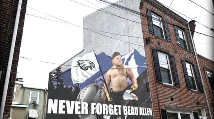 Beau Allen mural