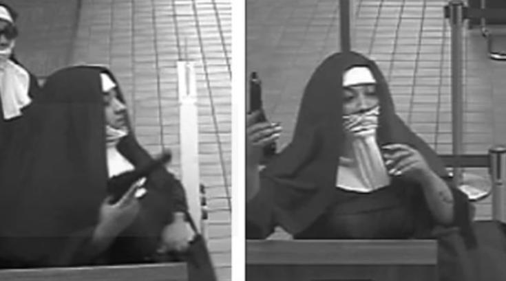 Nun robbers