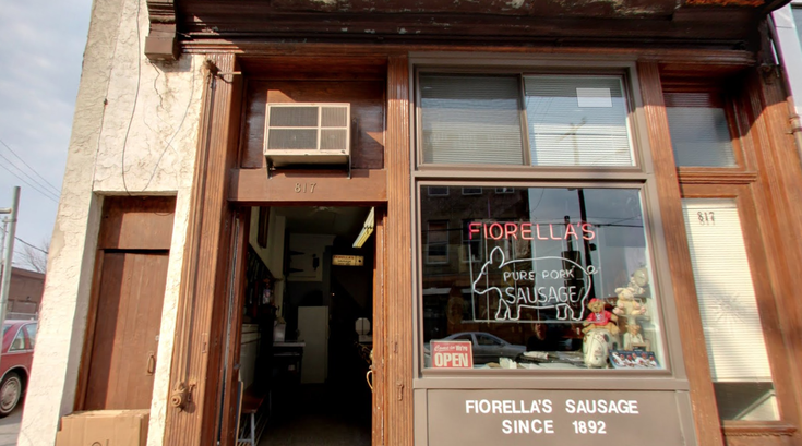 Fiorella's Sausage cash register