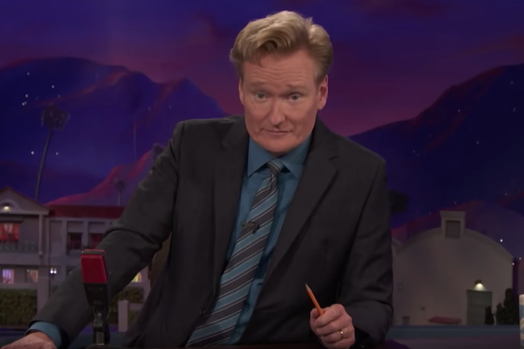 Conan O'Brien says goodbye to house band after 25 years