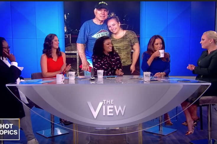 Meghan McCain returns to The View