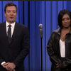 Tiffany Haddish sweeps Jimmy Fallon in Lip Sync Battle