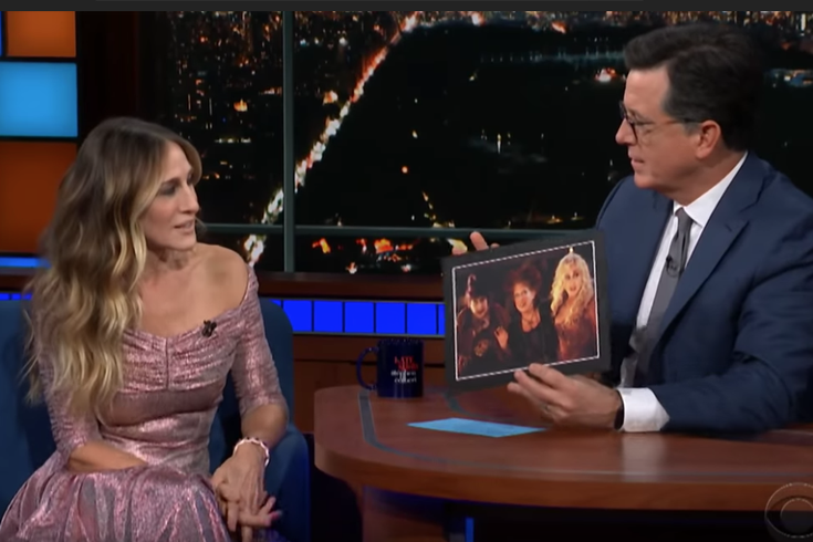 Sarah Jessica Parker talks Hocus Pocus with Stephen Colbert