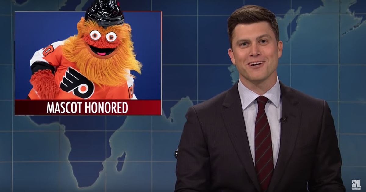Snl S Weekend Update Mentions Gritty Again Phillyvoice