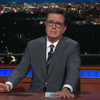 'The Late Show' goes live, Colbert talks NJ senate race and Beto O'Rourke loss