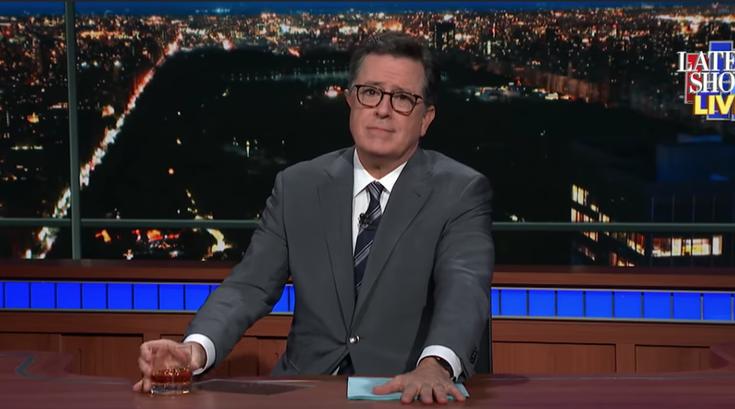 'The Late Show' goes live, Colbert talks NJ senate race and Beto O'Rourke loss