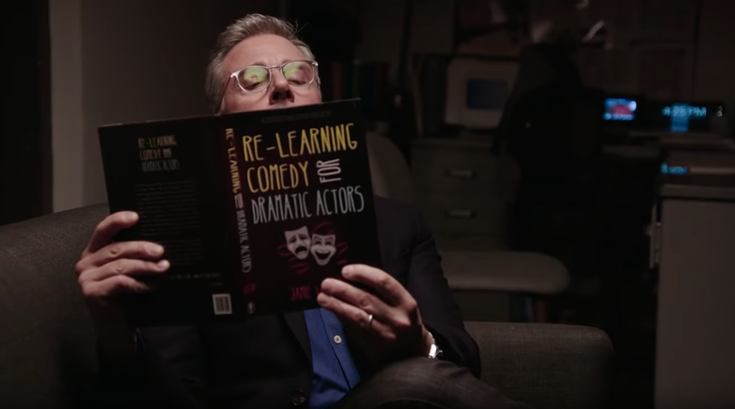 Steve Carell practices comedy in new SNL promo