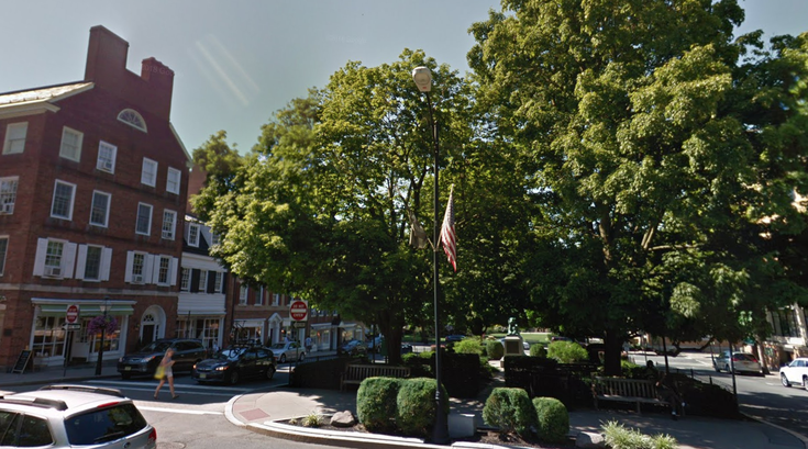 Palmer Square Princeton New Jersey