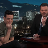 Rami Malek discusses Nicole Kidman snub on Jimmy Kimmel