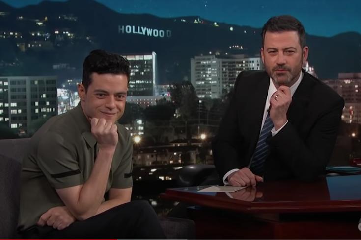 Rami Malek discusses Nicole Kidman snub on Jimmy Kimmel