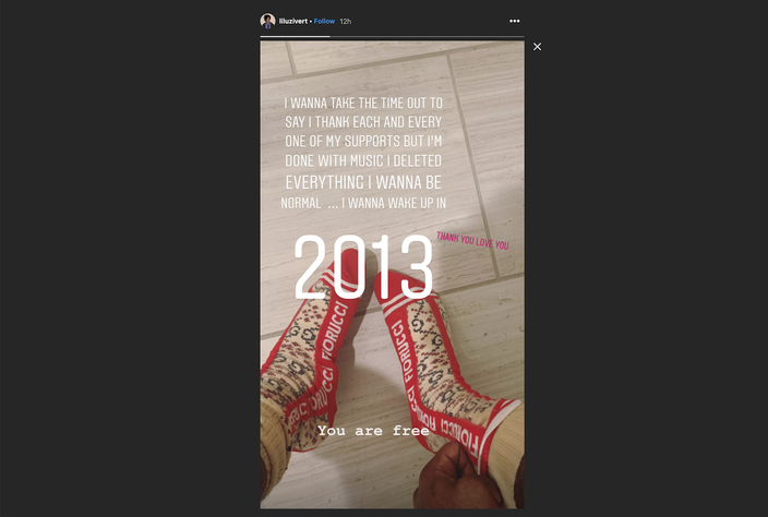 Lil Uzi Vert Instagram January 12