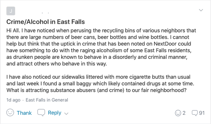 East Falls NextDoor