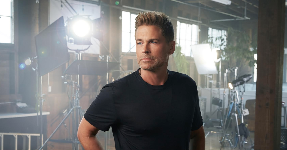 Rob Lowe On His One-man Show, His Long Career, And
