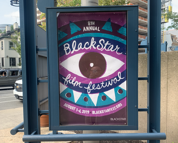 BlackStar Film Festival sign