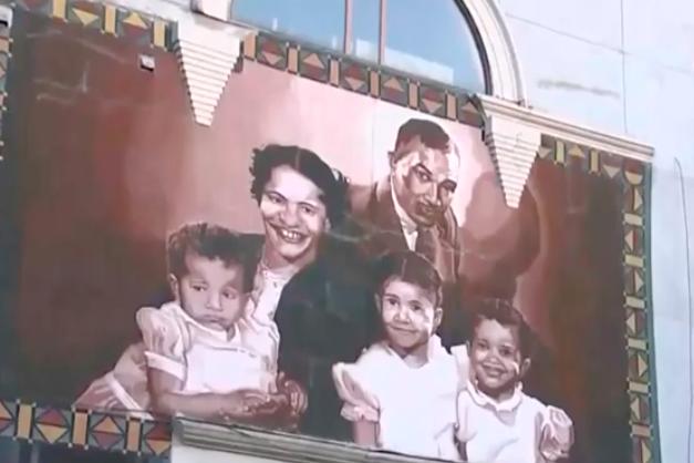 Cecil B. Moore mural