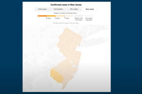 NJ COVID-19 cases