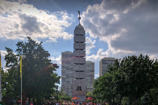 Columbus monument Penn's Landing