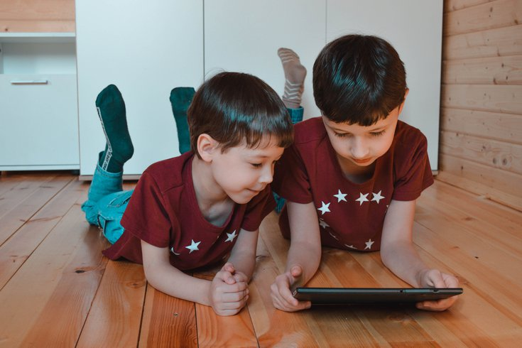 Pandemic screen time kids