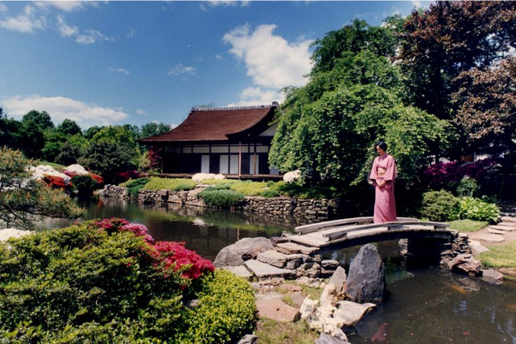 Charmant Japanese Tea House And Garden