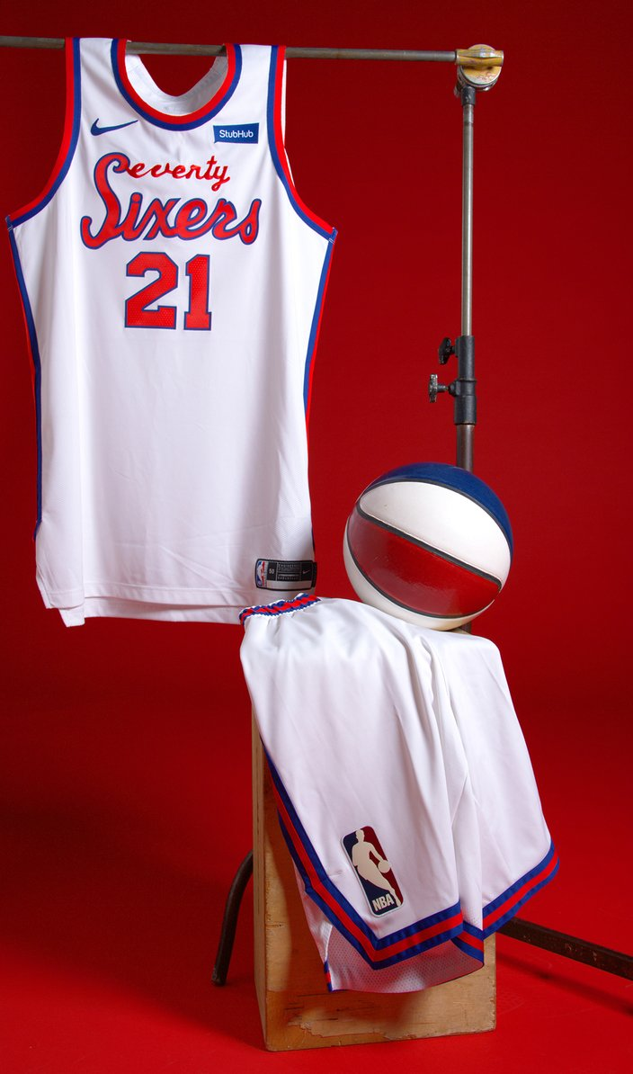 Sixers unveil new Classic Edition
