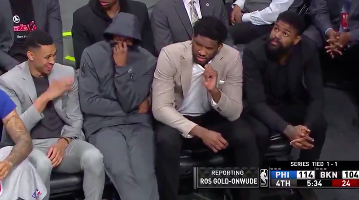 Sixers fart bench