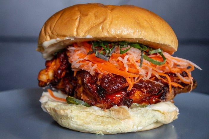 Southgate's Seoul Hot Korean Fried Chicken Sandwich