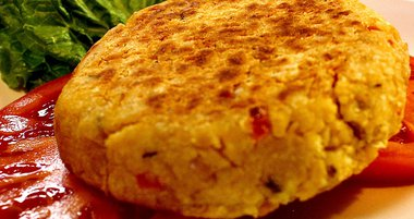 Limited - Spicy Lentil Chickpea Burgers
