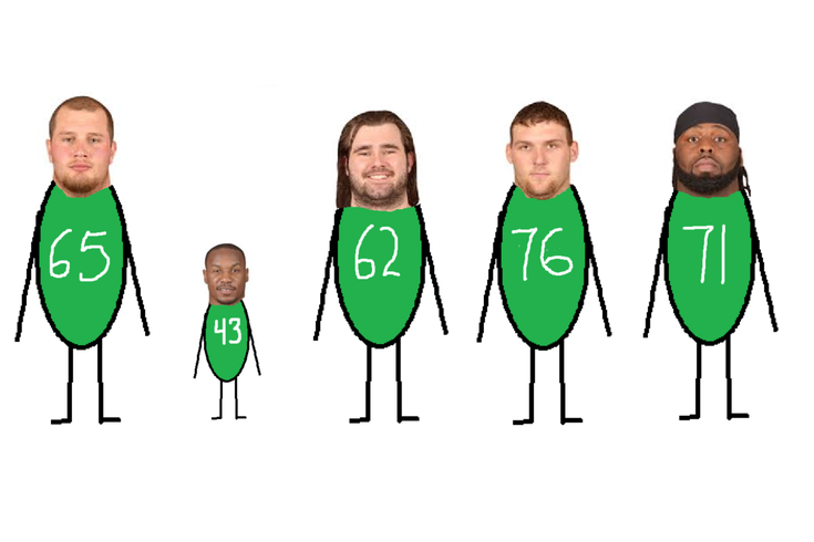 handing out 10 awards from the eagles offseason in stick figure