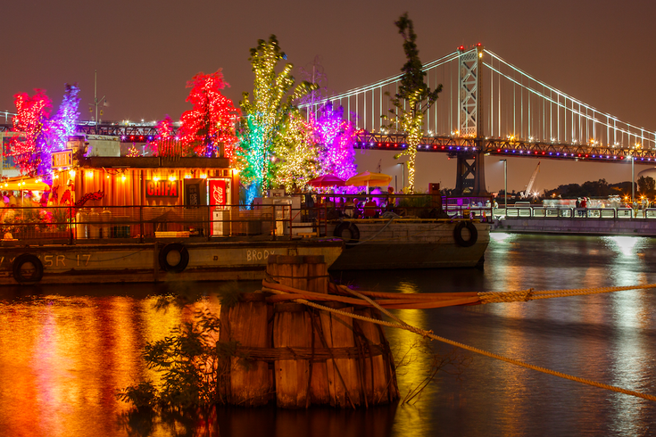 SSHP floating barges and bridge
