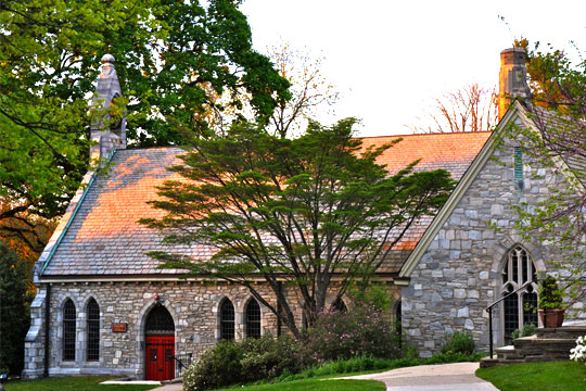 St. Paul's Episcopal Church in Chestnut Hill