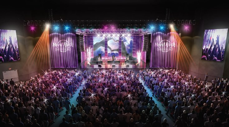 Limited - Hard Rock AC Stage