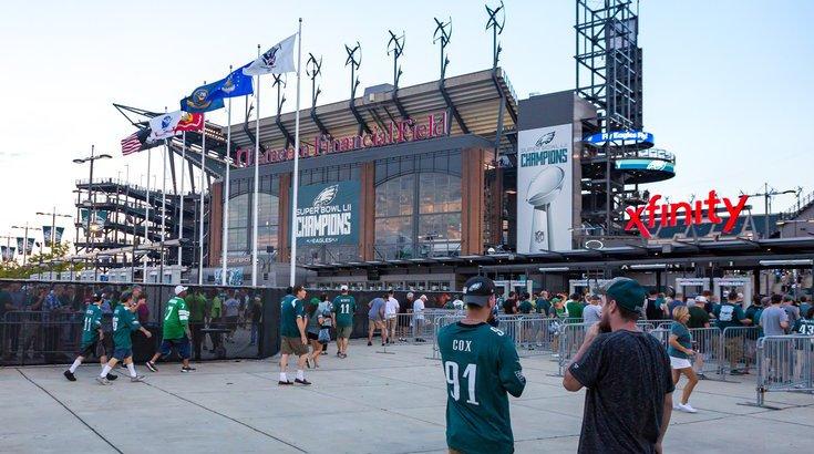 Eagles Tailgating Closures