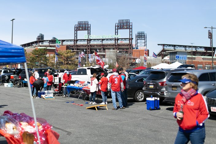 Tailgating opening day