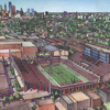 Temple stadium rendering