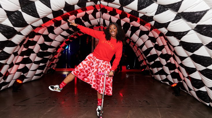 Tierra Whack performs at House of Vans Philadelphia