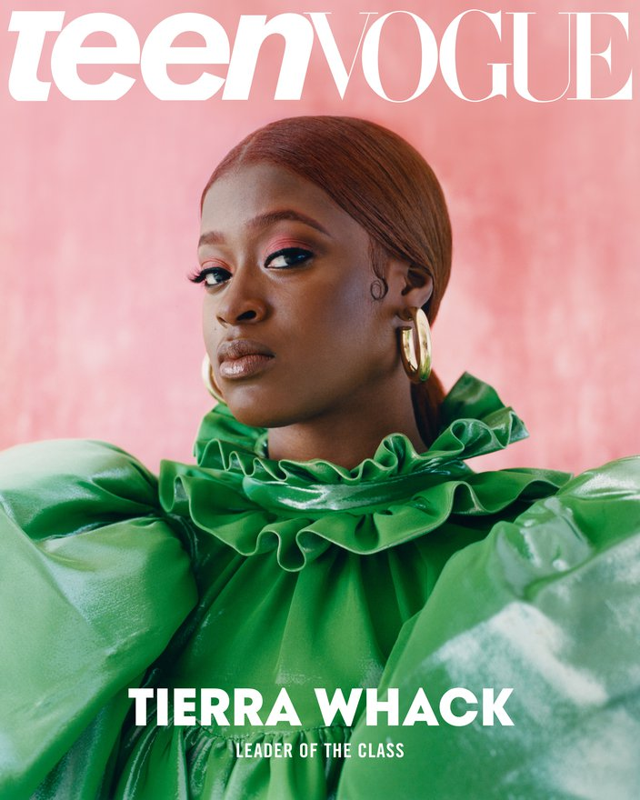 Tierra Whack on cover of Teen Vogue