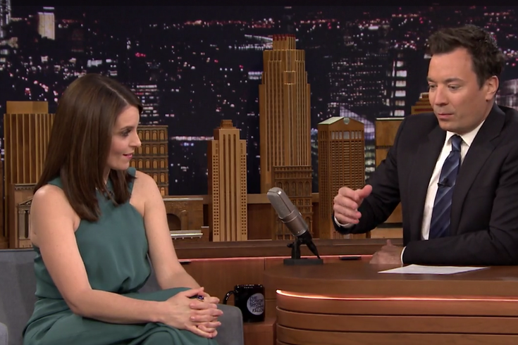 Tina Fey Jimmy Fallon Scholarship Talk