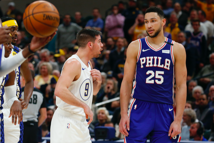 TJ McConnell Ben Simmons