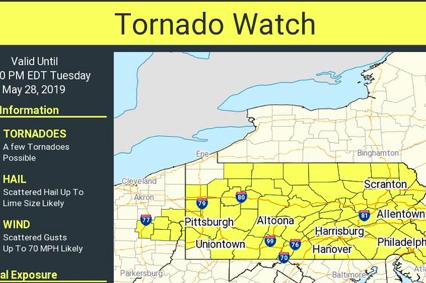 Tornado Watch May 28