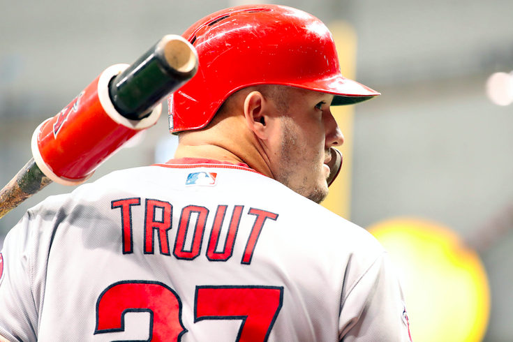 Mike Trout Batting