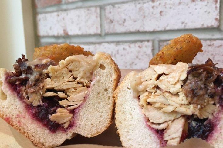 Jake's Turducken Sandwich