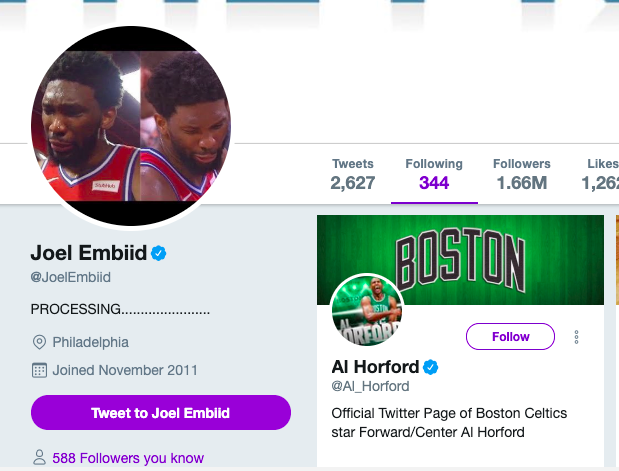 Embiid Horford Twitter