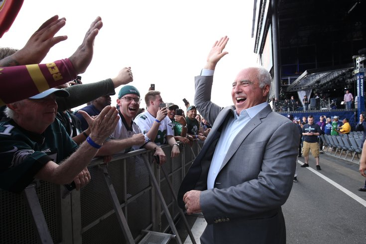 02e05ea59b4 Jeffrey Lurie addresses Eagles' potential resurrection of throwback ...