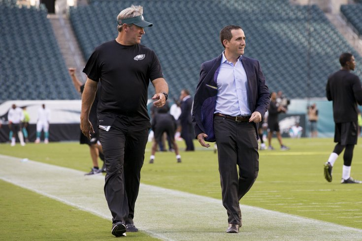 Image result for doug pederson howie roseman